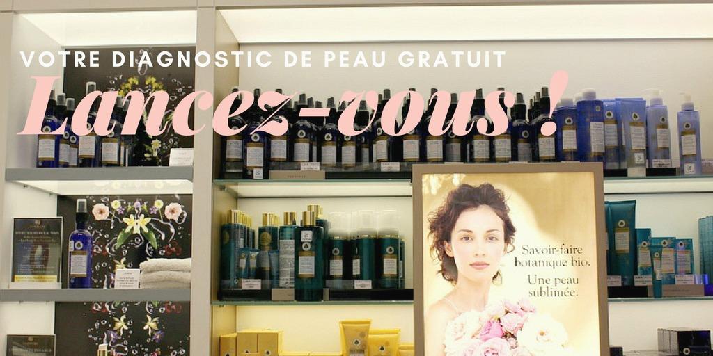 La boutique Dermacenter à Paris